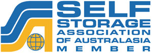 Logo for Self Storage Association Australasia
